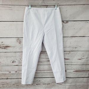 Soft Surroundings white casual dress trouser pants